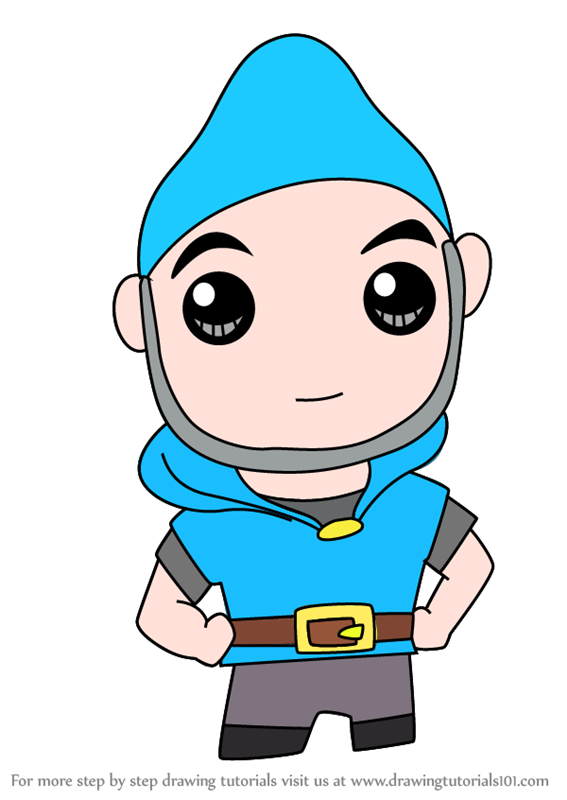 567x800 Learn How To Draw Kawaii Gnomeo From Gnomeo And Juliet (Kawaii