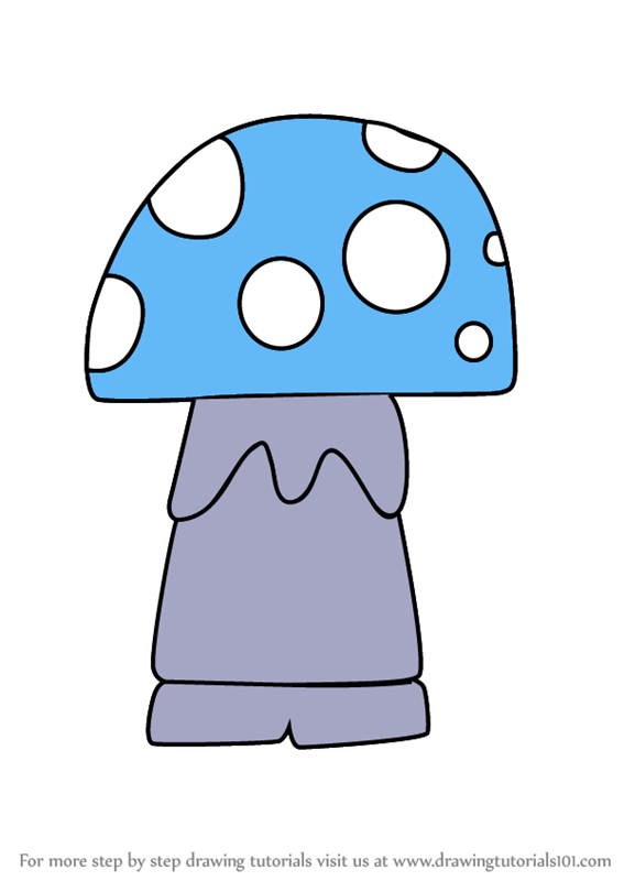 567x800 Learn How To Draw Kawaii Shroom From Gnomeo And Juliet (Kawaii