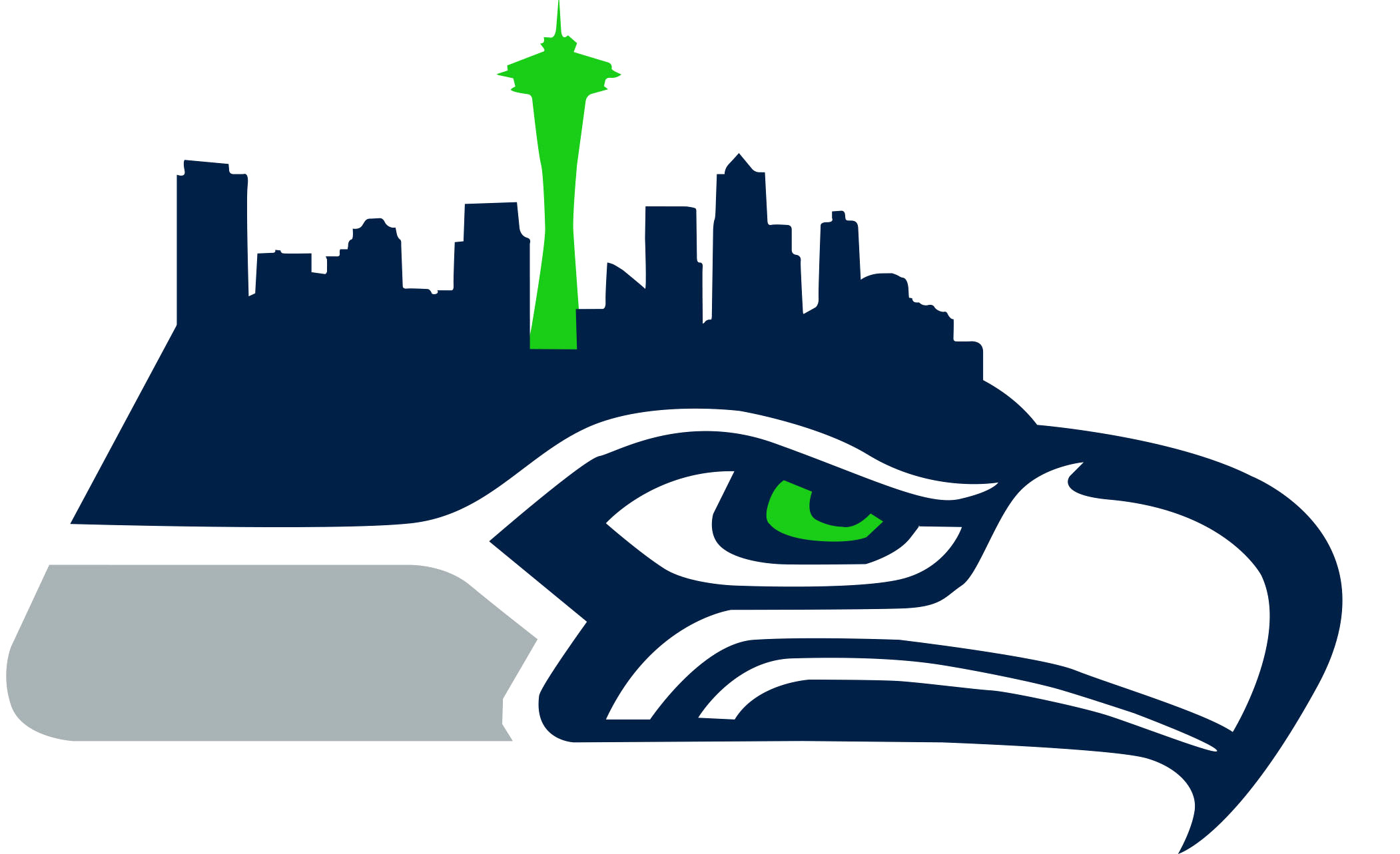 2102x1283 Go Seahawks Cliparts Free Download Clip Art On Seattle Clipart
