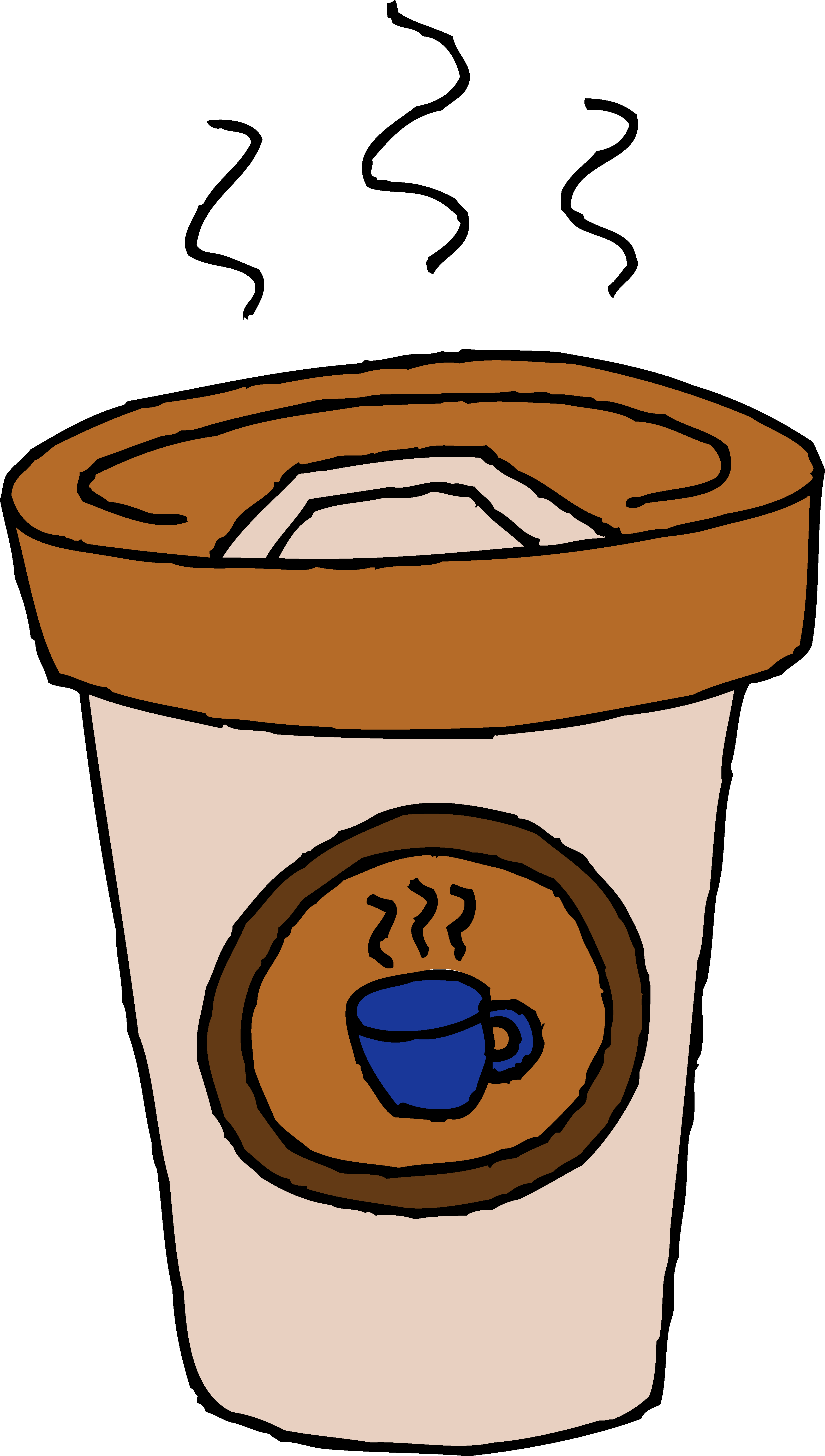 3162x5578 Hot Cafe Latte Clip Art