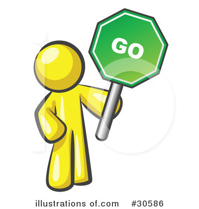 400x420 Go Clipart Go Sign Clipart 30586 Illustration Leo Blanchette Space