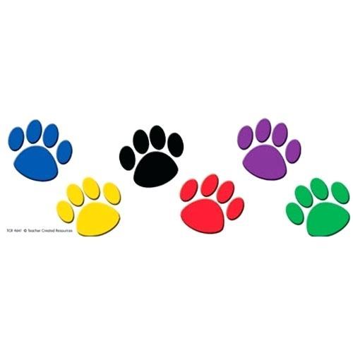 500x500 Paw Print Border Clip Art Free Clipart Dog Paw Print Border