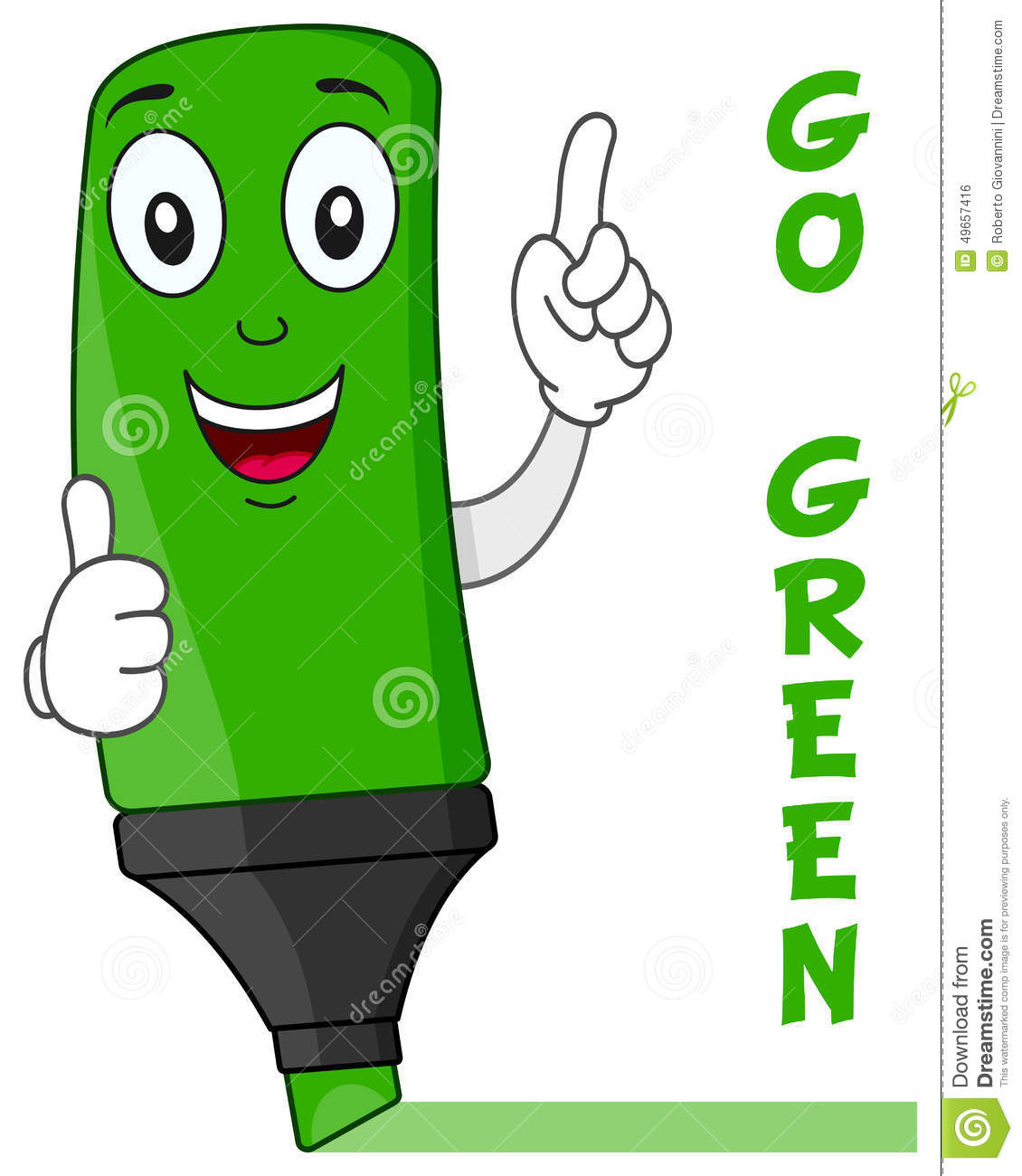Go Green Clipart