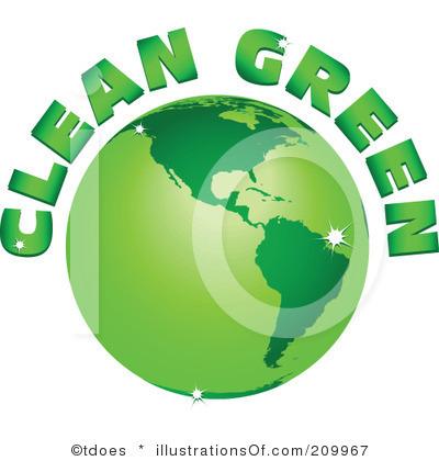 400x420 Go Green Free Clipart