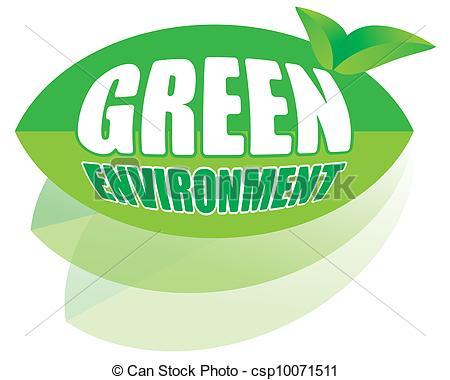450x380 Go Green Concept For Environment Vector Clip Art