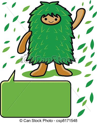 368x470 Illustration Of Go Green Vector