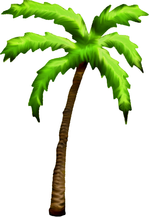 516x750 Palm Tree Art Tropical Palm Trees Clip Art Go Back Images For 3 2