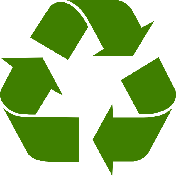 600x600 Recycle Clip Art Free Clipart Images 3