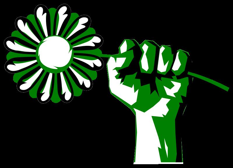 800x579 Free Clipart Green Fist Scyg