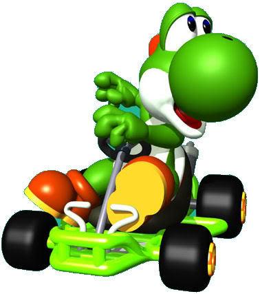 378x427 Yoshi Mario Kart Picture Clipart Panda