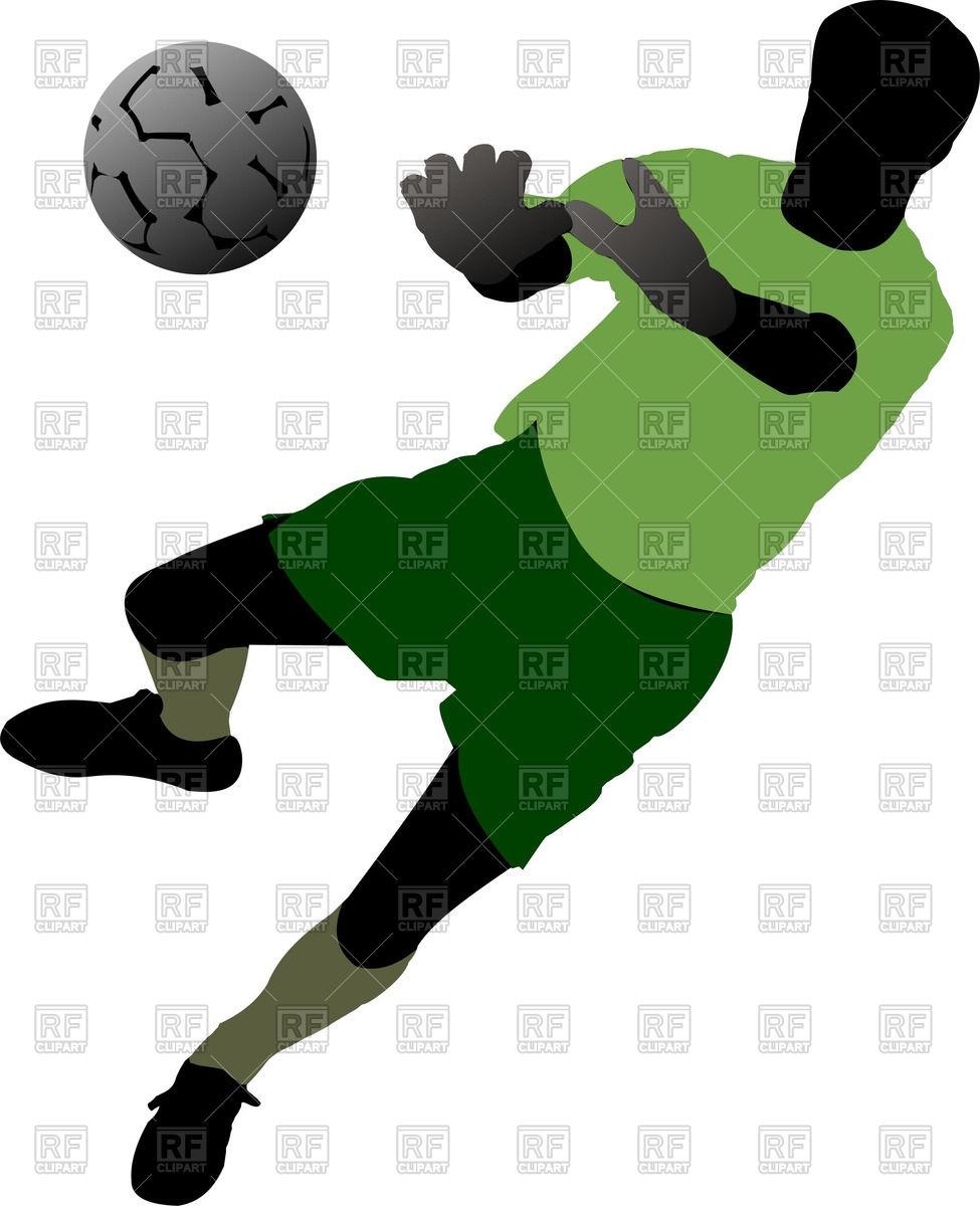 975x1200 Clipart Soccer Goalie