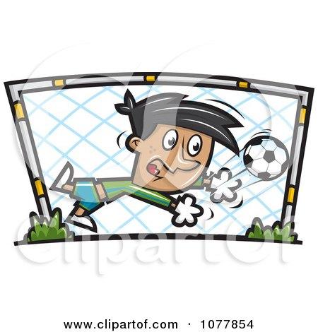 450x470 Royalty Free (Rf) Soccer Goalie Clipart, Illustrations, Vector
