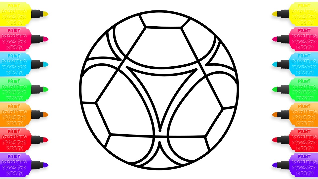 1280x720 Emejing Soccer Ball Coloring Page Contemporary