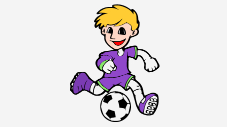 454x255 Soccer Ball Coloring Pages
