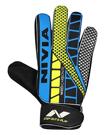 425x543 Buy Nivia Gg 898 Web Goalkeeper Gloves (Multi Color) Online