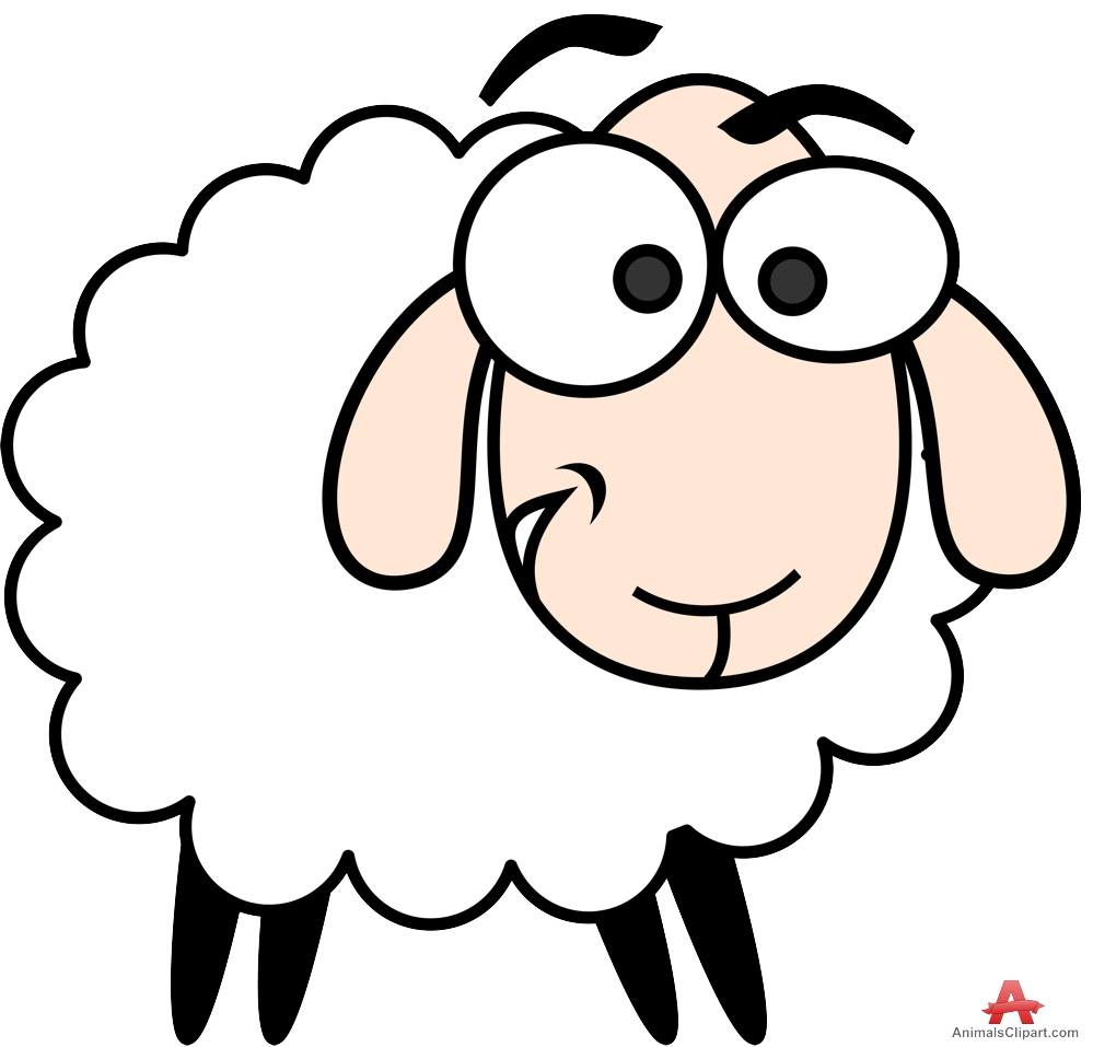 999x957 Sheep And Goat Clipart