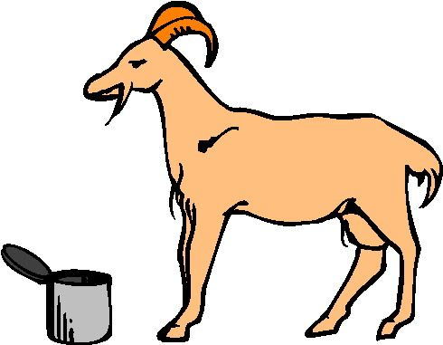 490x381 Fancy Clip Art Goat Free Goat