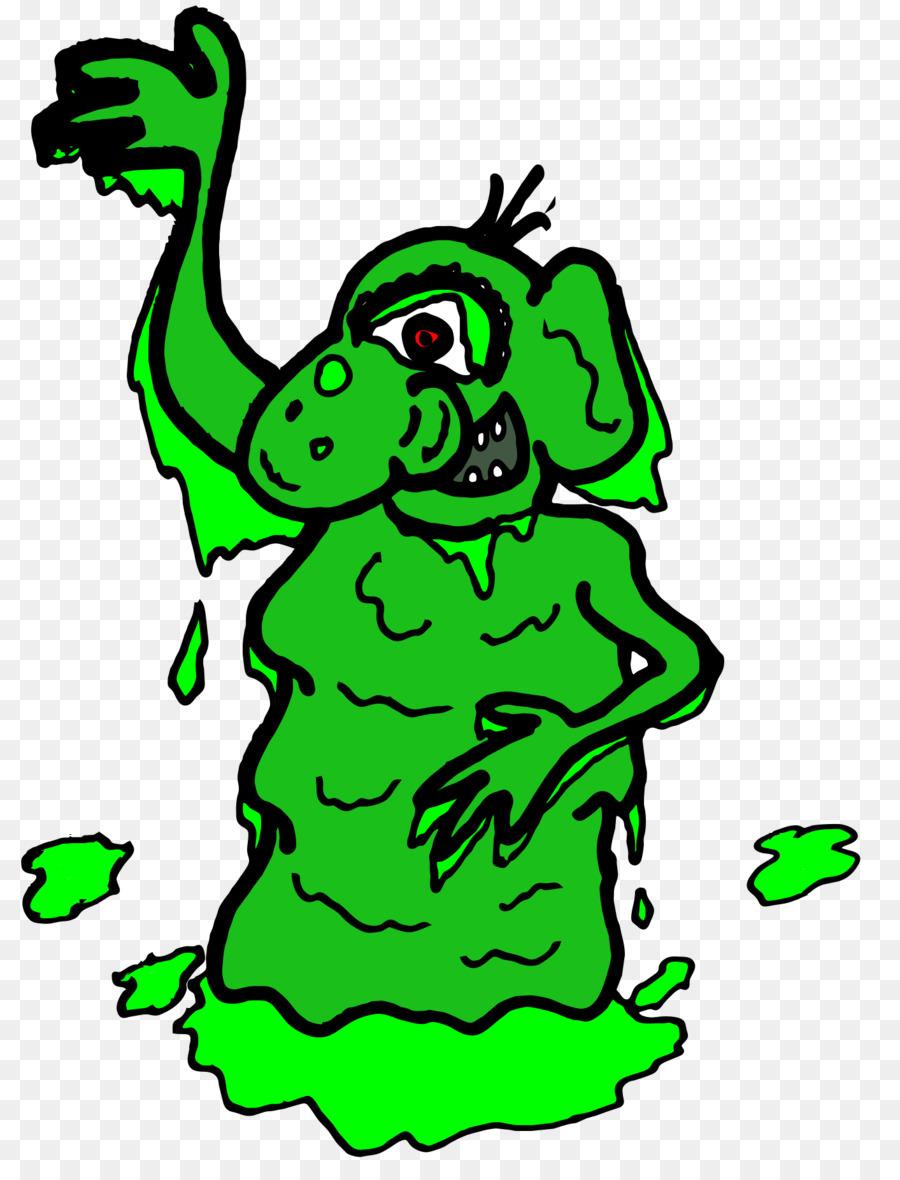 900x1180 Green Goblin Mucus Clip Art