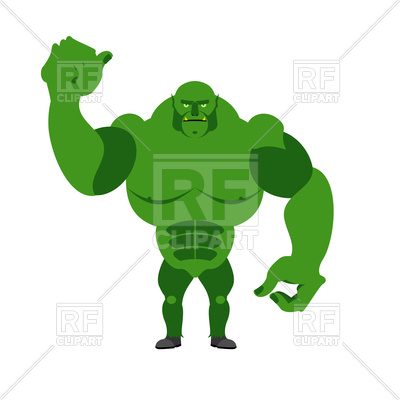 400x400 Angry Green Monster