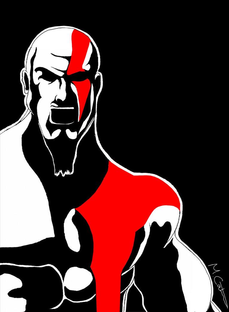 766x1044 God Of War Kratos V2 By Marcocatena
