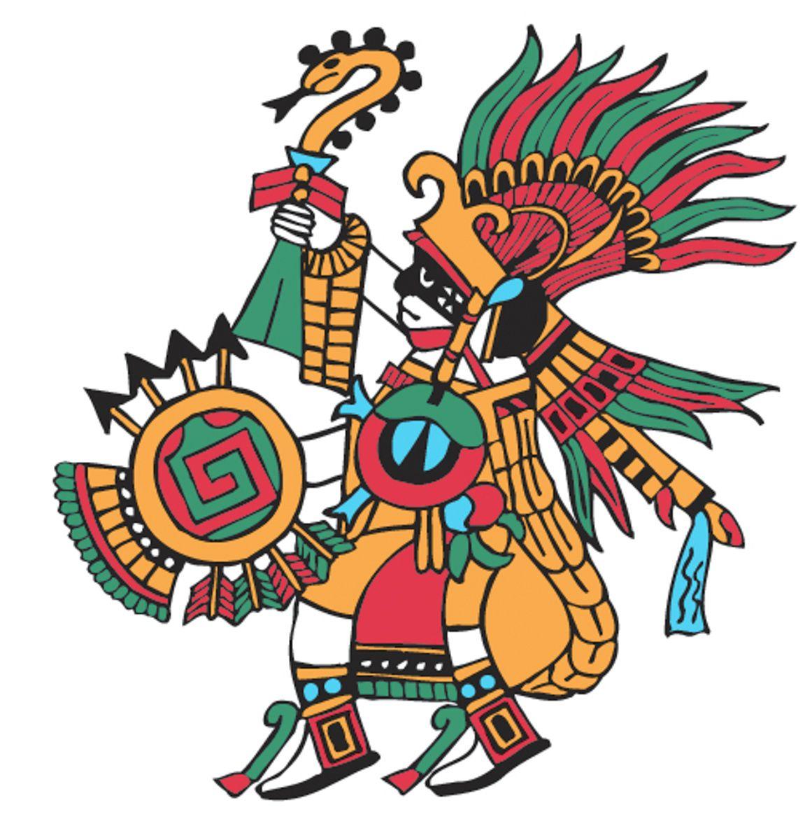 1161x1200 Huitzilopochtli Hummingbird Of The South (God Of War