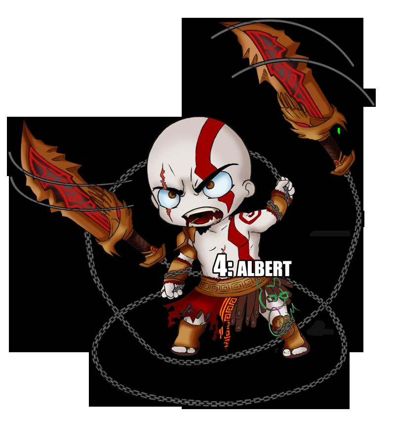 800x851 Kratos Chibi By Cmvm
