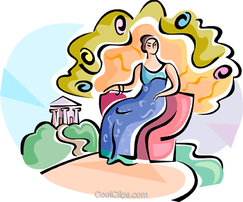 480x398 Greek Gods Hera Goddess Of Marriage Royalty Free Vector Clip Art