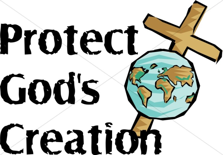 776x540 Protect God's Creation With World And Cross Worship Word Art