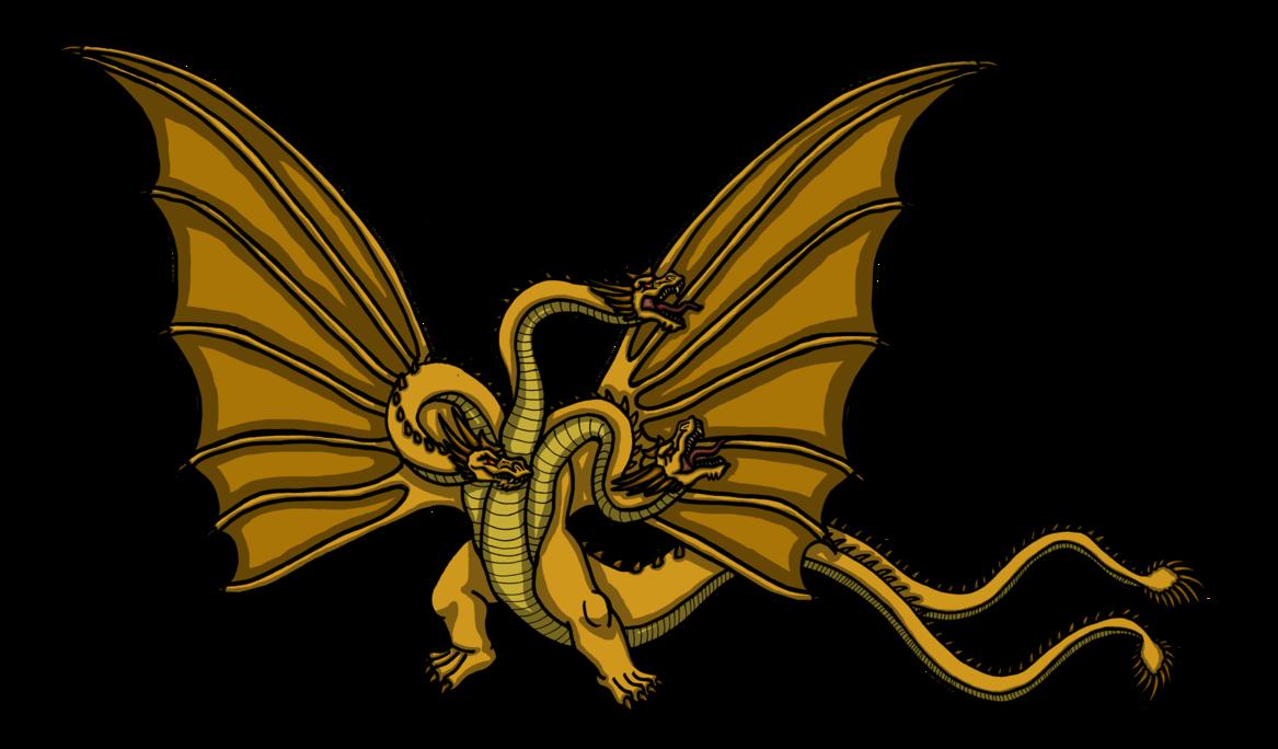 1167x684 Ichf King Ghidorah By Tyrantisterror