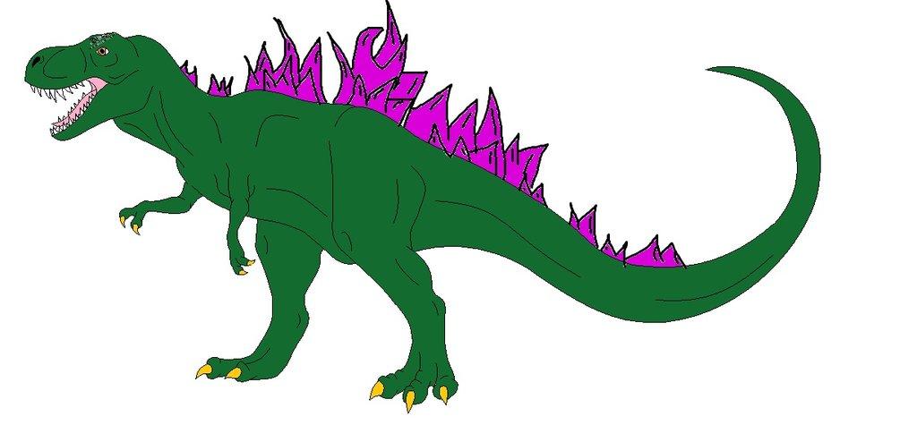 1024x494 T Rex Godzilla 2000 By Ltdtaylor1970