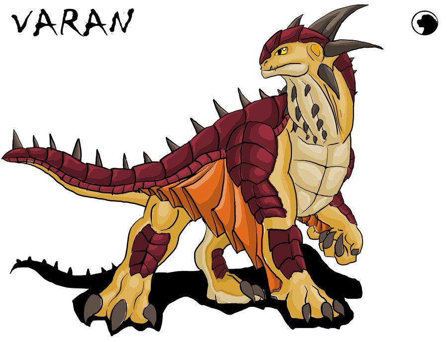 900x689 Godzilla Animated Varan By Blabyloo229