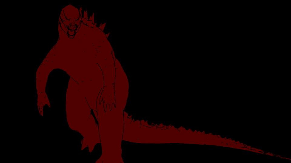 960x540 Blender Cgi Red Godzilla Vs Blue Muto