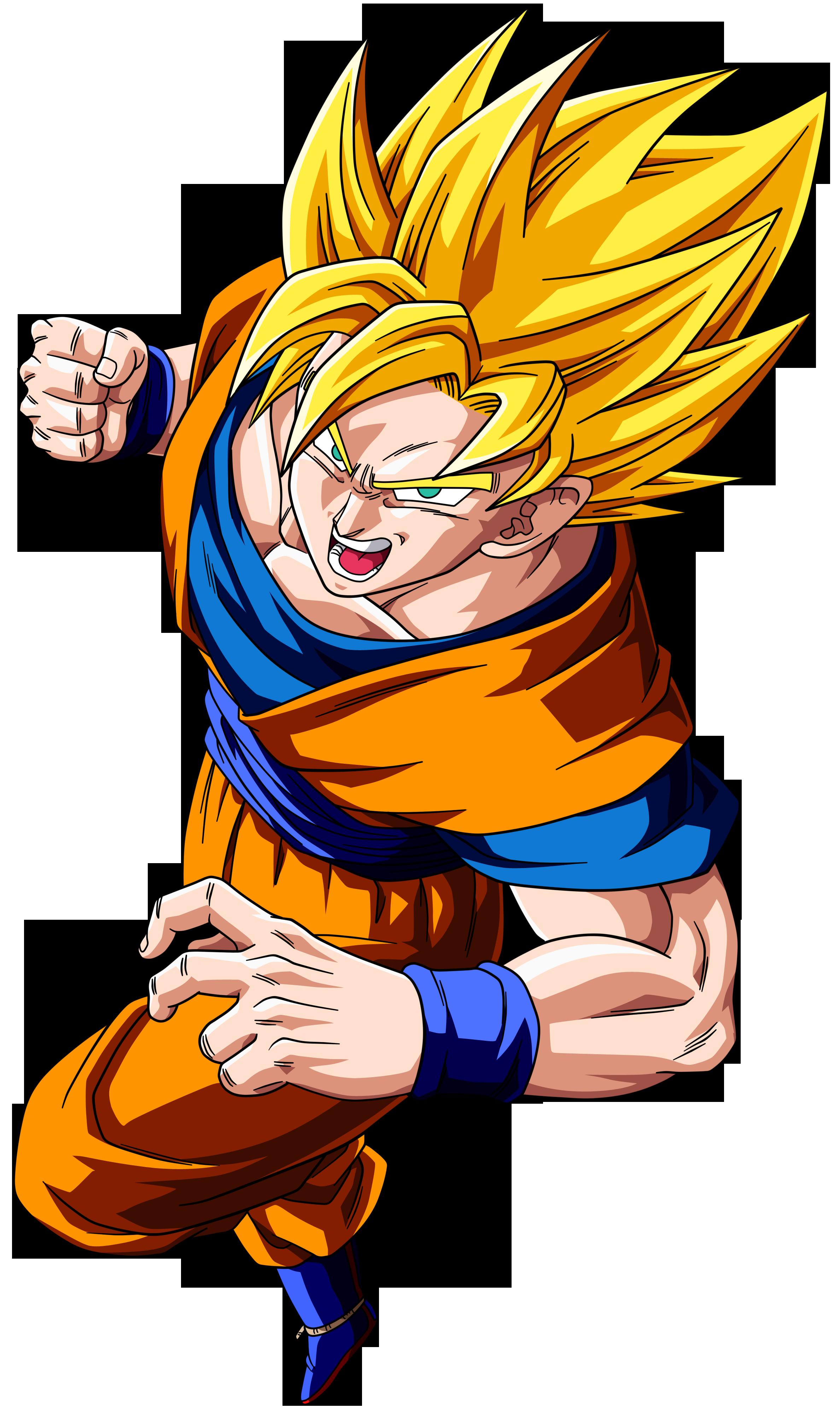 2376x4000 Dragon Ball Goku Png Clipart Png Mart