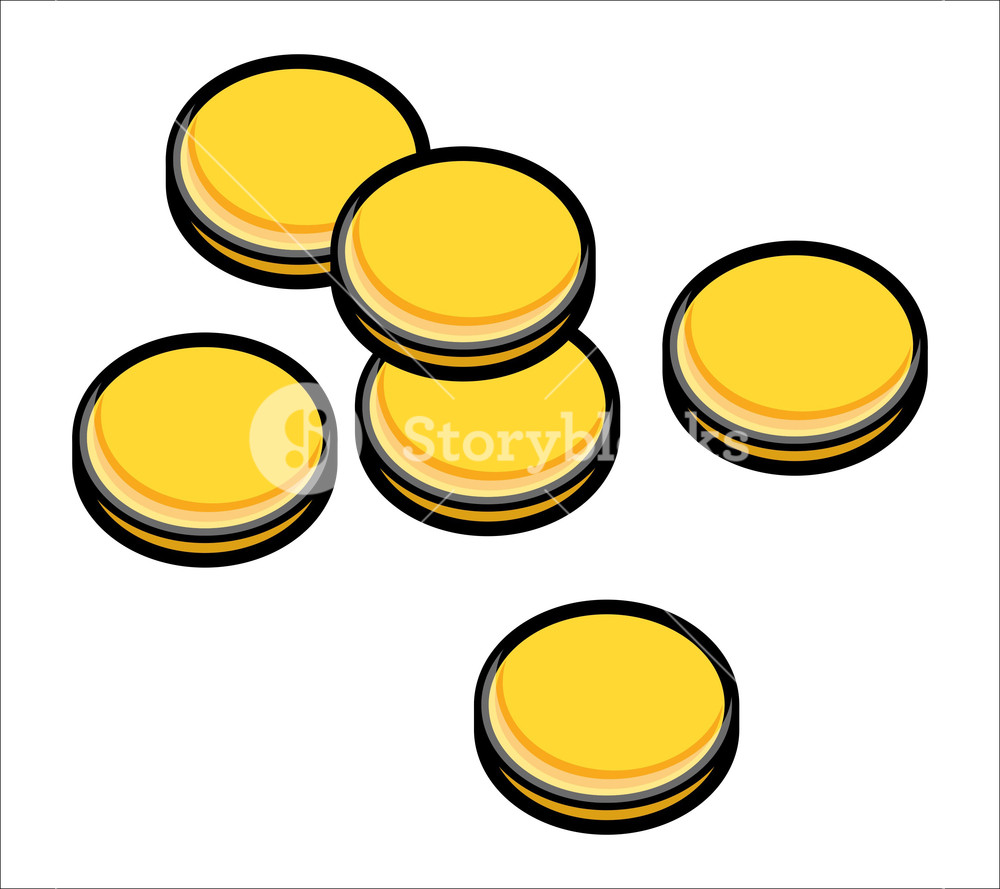 1000x889 Gold Coins Stack