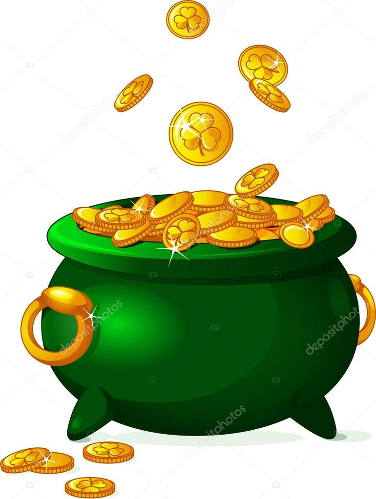 770x1023 Magic Pot Of Gold Pictures Coins Free Clip Art