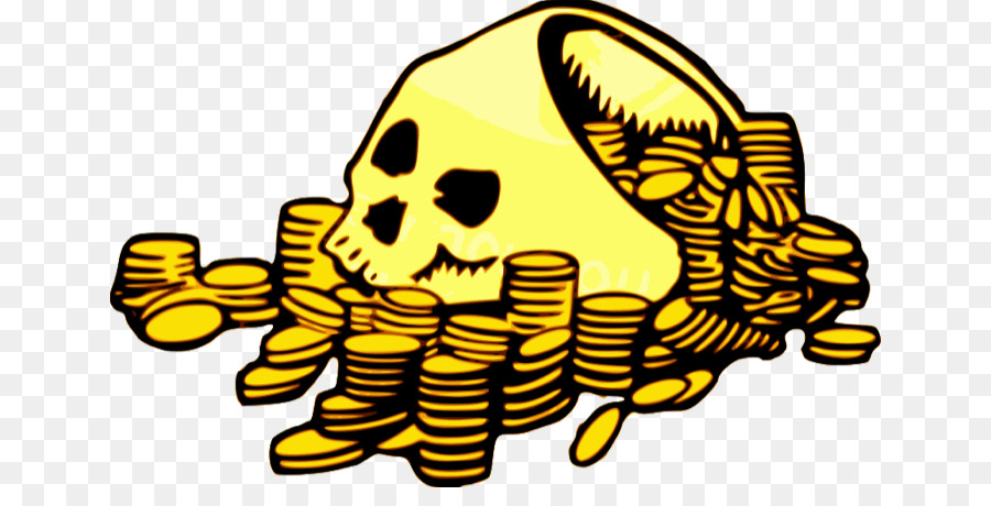 900x460 Piracy Gold Coin Clip Art