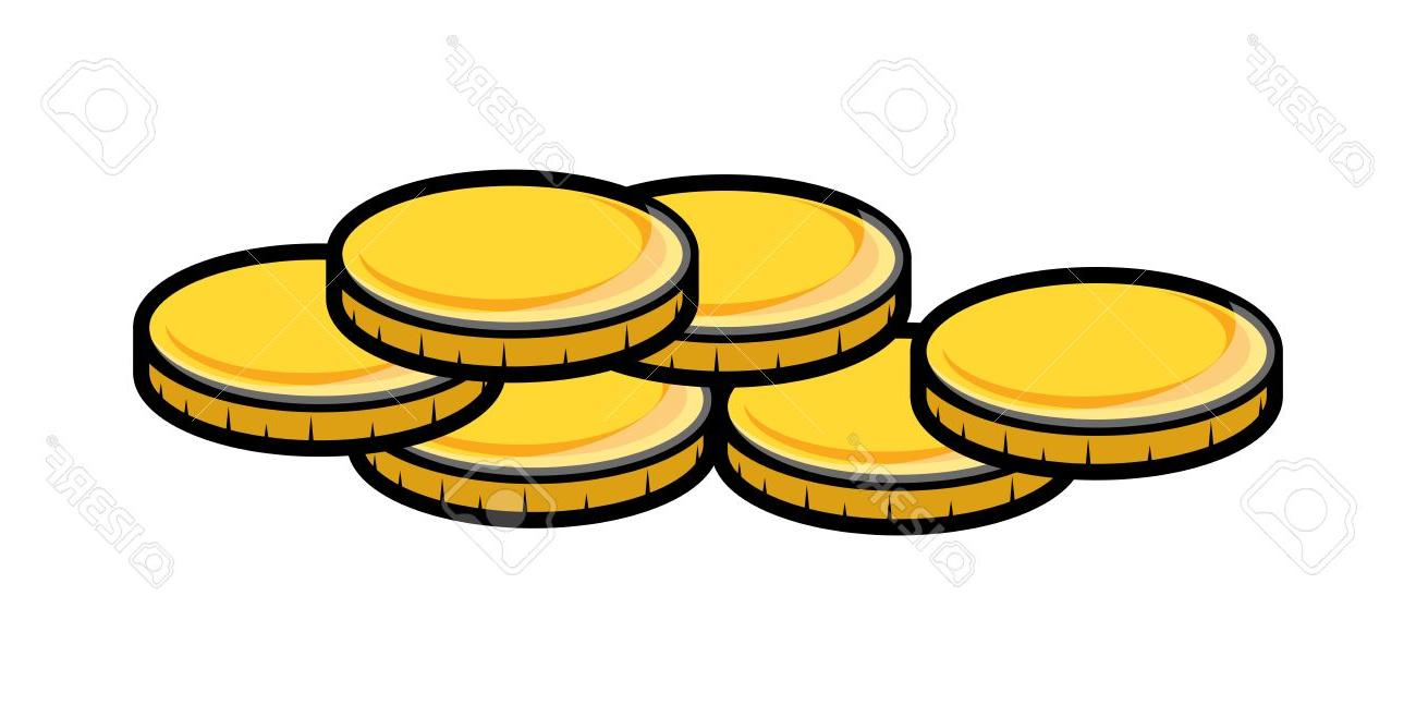 1300x647 Top 10 Cartoon Gold Coins Clipart Vector Illustration File Free