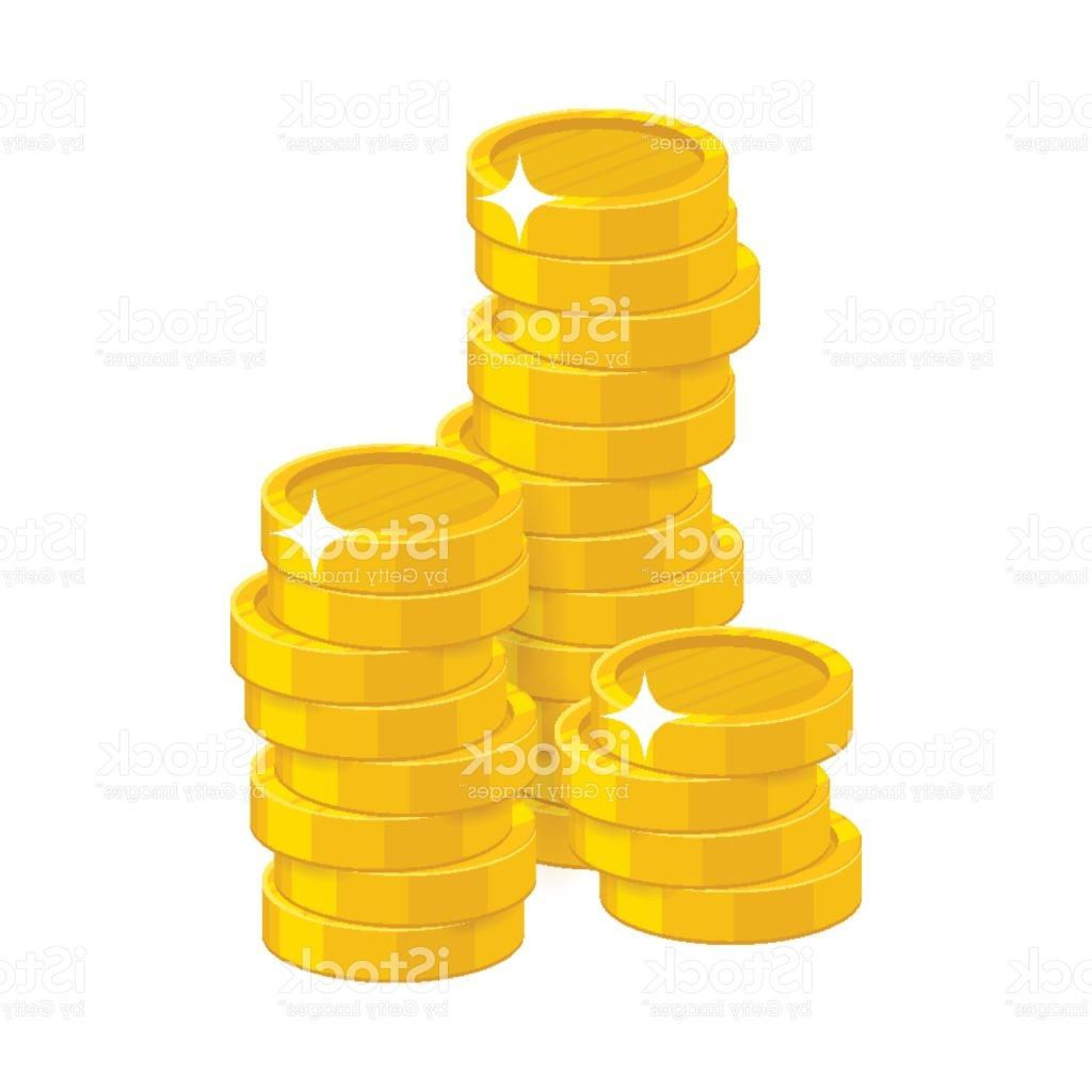 1024x1024 Best Hd Gold Coins Stacks Clip Art Drawing Vector Graphic Images
