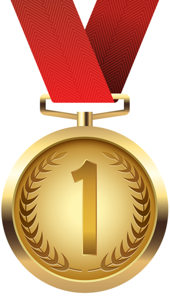345x600 Gold Medal Png Clip Artu200b Gallery Yopriceville