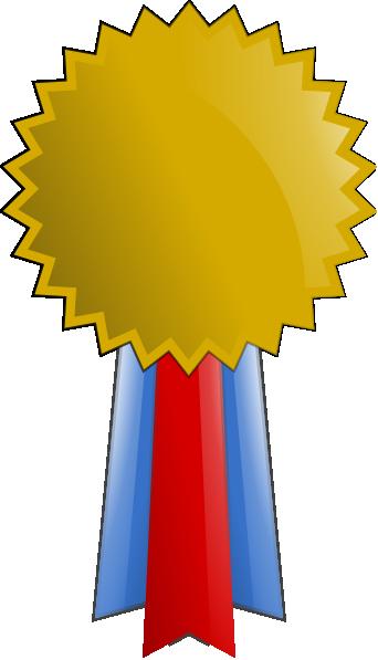342x597 Gold Medal Clip Art