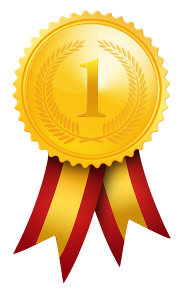360x578 1st Place Medal Clipart