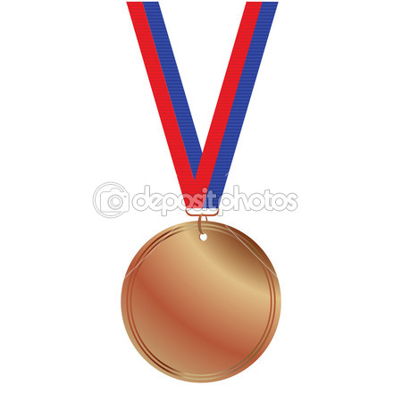 450x450 Olympic Bronze Medal Clipart