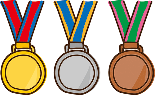 500x313 Collection Of Olympic Medal Clipart High Quality, Free
