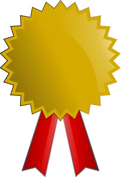 408x595 Clip Art Gold Medal
