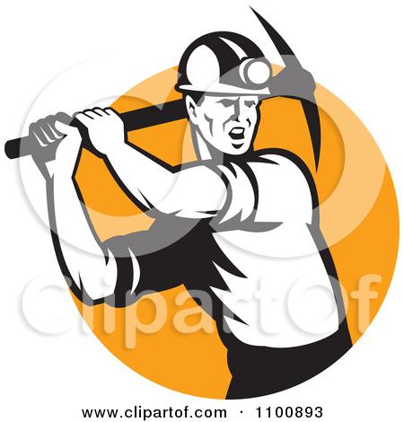450x470 Coal Miner Clipart