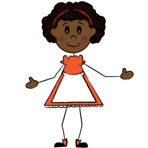 300x300 African American Graphics Clipart