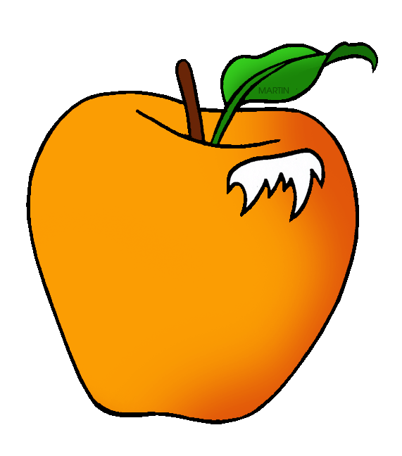 571x648 United States Clip Art By Phillip Martin, State Fruit Of Illinois