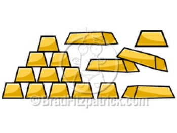 350x263 Cartoon Gold Clipart Picture Royalty Free Gold Clip Art Licensing.