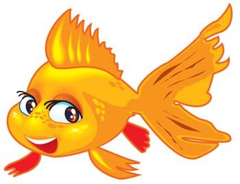 350x269 Fish Cartoon Clip Art Description Gold Fish 2 Gold Fish 2 Vector