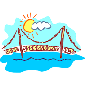 300x300 Golden Gate Bridge 3 Clipart, Cliparts Of Golden Gate Bridge 3